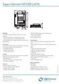 Sagem Denmark INT3200 - Cryptera - Page 2