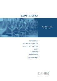 Download Beispielmenü (PDF) - Maistra