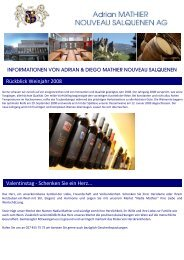 Newsletter 2009 1 - Mathier