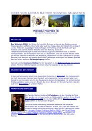 Newsletter 2006 6 - Mathier