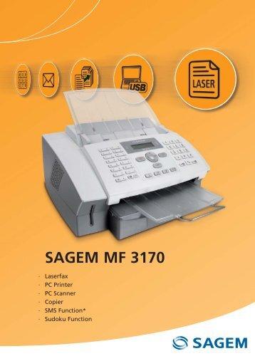 SAGEM MF 3170 - Sagemcom