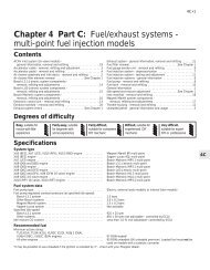Chapter 4 Part C: Fuel/exhaust systems - multi-point fuel injection ...