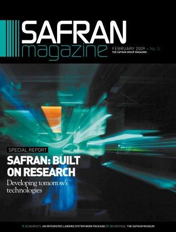 February 2009 - Safran in North America