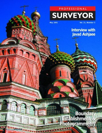 Interview With Javad Ashjaee - The American Surveyor