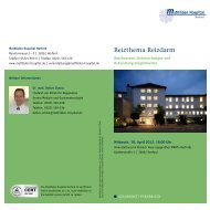 Reizthema Reizdarm - Mathilden Hospital Herford