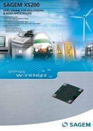 sagem xs200 gprs engine for multimedia & m2m applications