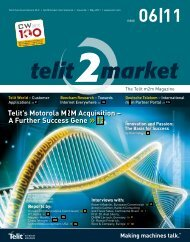 Telit's Motorola M2M Acquisition - SemiconductorStore.com