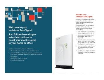 Sure Signal User Guide.pdf - Vodafone