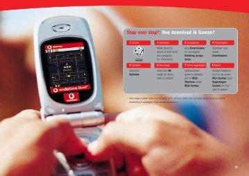 Stap voor stap*: Hoe download ik Games? - Vodafone