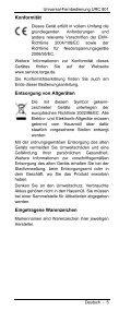 UNIVERSAL FERNBEDIENUNG - Targa Service Portal - Page 7