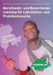 Berufswahl- und Bewerbungs- coaching für Lehrstellen ... - ICF Zürich