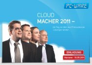 CLOUD MACHER 2011 – - Matrix42