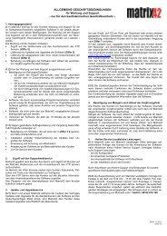 Matrix-AGB-Wartung-Support-11-2011 _2_ - Matrix42