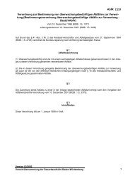 Verordnung zur Bestimmung von überwachungsbedürftigen ...