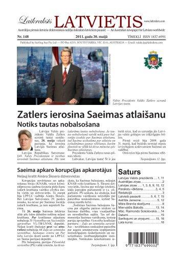 """Laikraksts """"Latvietis"""" 148"""
