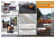 Gussasphalt Info-Flyer