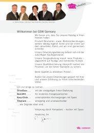 Willkommen bei GSW Germany - GSW Stahlwaren GmbH