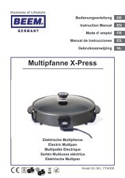 Multipfanne X-Press - EKT Shop