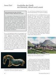 Geschichte der Ostalb mit Härtsfeld, Albuch und Lonetal - Brenzregion