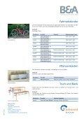 Baumschutzgitter und Bodengitter Parkbank Park ... - Betamet - Seite 3