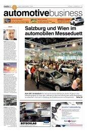 Salzburg und Wien im automobilen Messeduett Auto ... - MediaNET.at