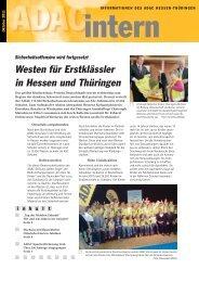 Westen für Erstklässler in Hessen und Thüringen - ADAC Ortsclub ...