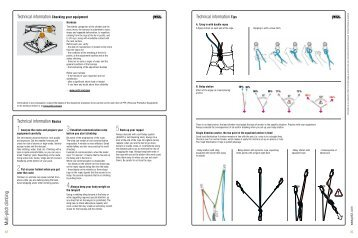 Multi-pitch climbing tech tips - Petzl