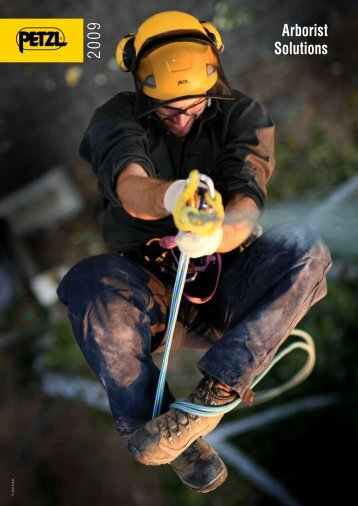 Info | Petzl Arborist Solutions 2009 (pdf) - Rescue Response Gear