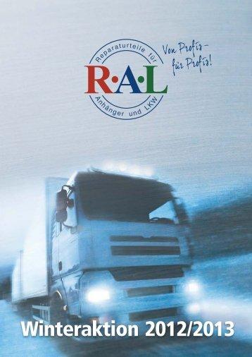 RAL Winteraktion 2012.cdr - RAL Handels GmbH