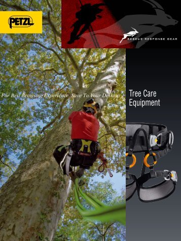 Petzl Tree Care - Arborist Catalog 2008 (pdf - Rescue Response Gear