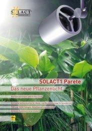 Flyer SOLACT1 Parete als pdf-Datei - Hugentobler Spezialleuchten ...