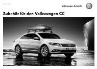 Zubehör für den Volkswagen CC
