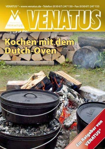 Kochen mit dem Dutch-Oven Kochen mit dem Dutch-Oven - Venatus