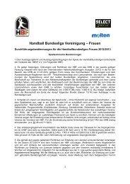 Handball Bundesliga Vereinigung – Frauen