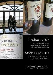 Der Prospekt zur Bordeaux-Subskription (Post-Versand ... - Martel