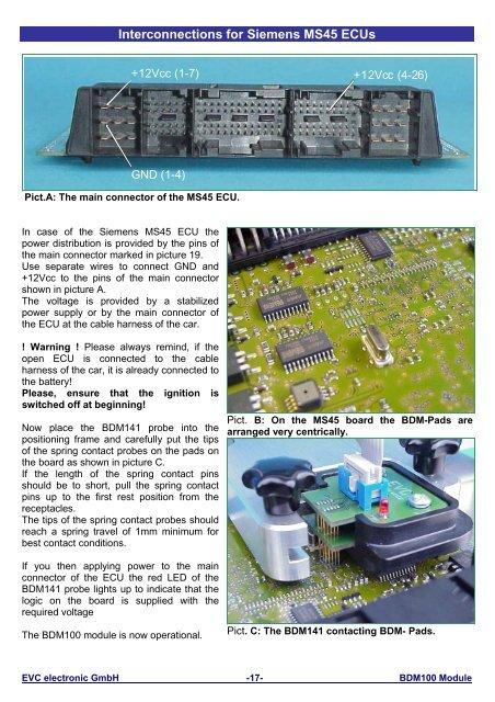 Interconnections Siemens