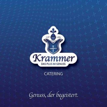 Cateringkatalog (PDF) - Krammer