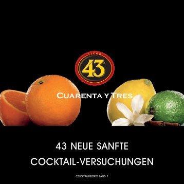 43 NEUE SANFTE COCKTAIL-VERSUCHUNGEN - Licor 43