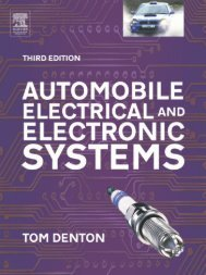 Automobile Electrical and Electronic Systems, Third edition