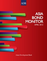 Asia Bond Monitor - April 2012 - AsianBondsOnline - Asian ...