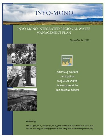 IWVWD GHG Inventory Monthly, 2011 - Inyo-Mono Water Management
