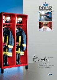 Prospekt Feuerwehr-/Einsatzschränke 1