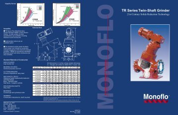 134887 Monoflo - Phoenix Pumps, Inc.