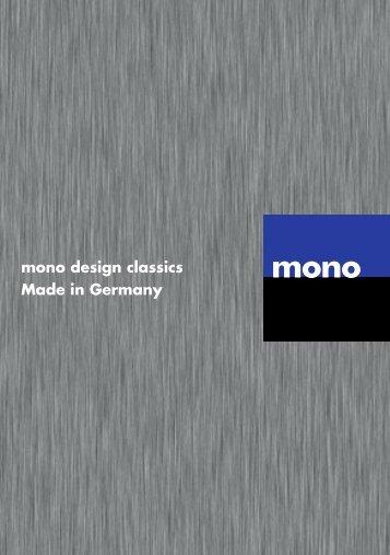 mono Produktbeileger