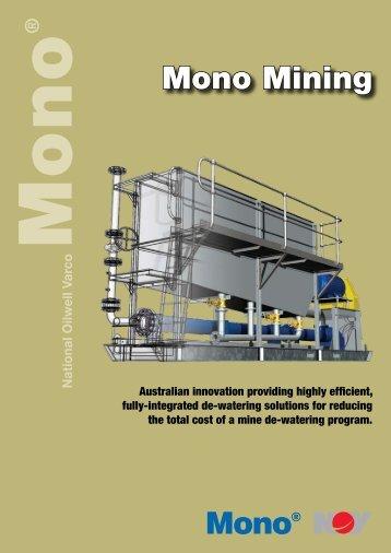 Mono Mining - Mono Pumps