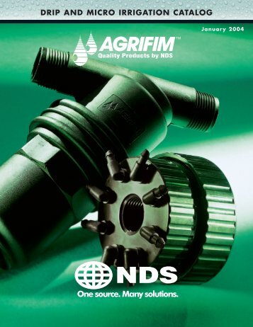 DRIP AND MICRO IRRIGATION CATALOG - Ewing Irrigation