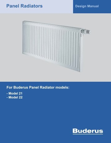Panel Radiators - Fitch Specialties