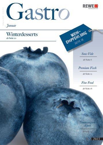 Winterdesserts - REWE-Foodservice