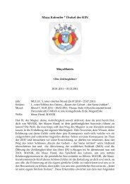 Maya Kalender * Orakel der KIN MayaMatrix - Romana-Shunyata