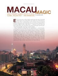 Macau - Forbes Special Sections